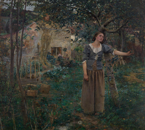 Joan of Arc, 1879 -  Jules Bastien-Lepage - McGaw Graphics