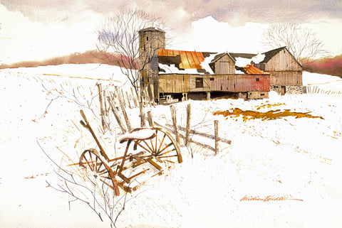 Winter Settles In -  William Biddle - McGaw Graphics