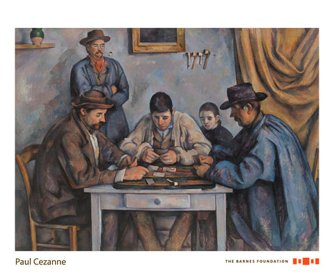 The Card Players, 1890-1892 -  Paul Cezanne - McGaw Graphics