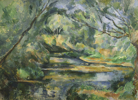 The Brook -  Paul Cezanne - McGaw Graphics