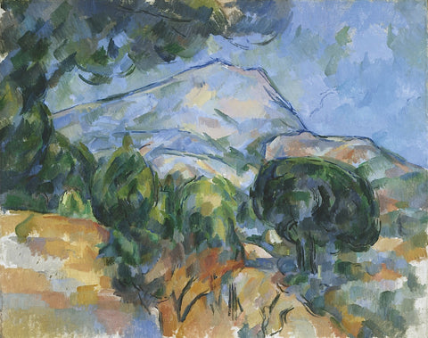 Mount Sainte-Victorie, c.1904 -  Paul Cezanne - McGaw Graphics