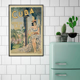 Cuba -  Vintage Poster - McGaw Graphics