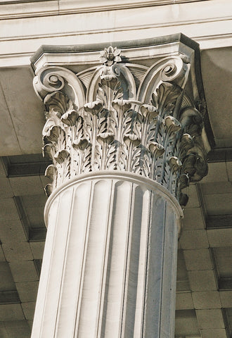 Corinthian Column II (color) -  Erin Clark - McGaw Graphics