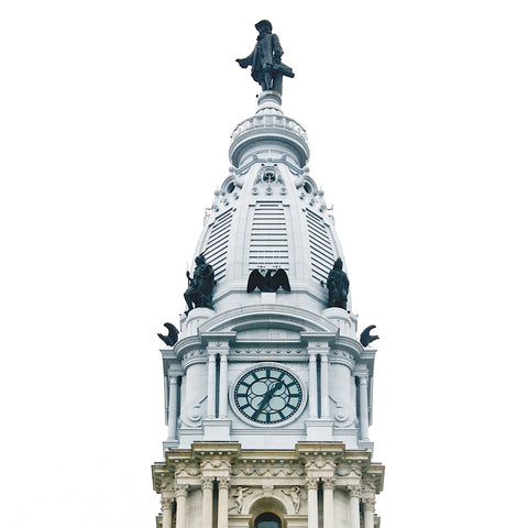 City Hall Spire I (color) -  Erin Clark - McGaw Graphics