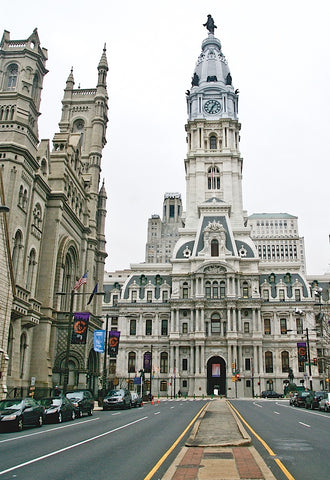 Erin Clark - Philadelphia City Hall (color)