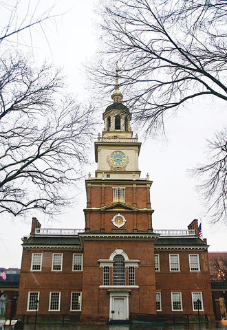 Independence Hall (center) (color) -  Erin Clark - McGaw Graphics