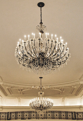 Chandeliers (color) -  Erin Clark - McGaw Graphics