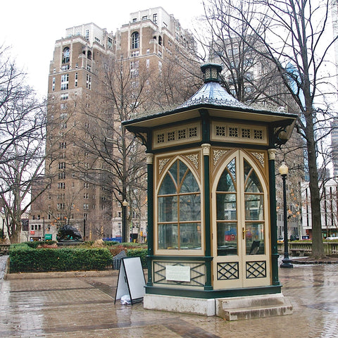 Erin Clark - Rittenhouse Square (color)