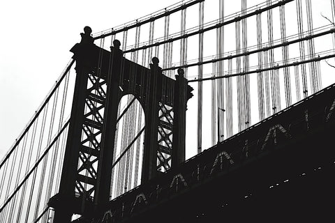 Manhattan Bridge Silhouette -  Erin Clark - McGaw Graphics