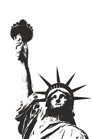 Statue of Liberty (outline) -  Erin Clark - McGaw Graphics