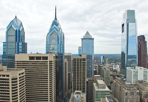 Philly Skyline -  Erin Clark - McGaw Graphics