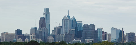 Philly Panorama -  Erin Clark - McGaw Graphics