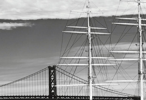 Erin Clark - Bridge & Masts (b/w)