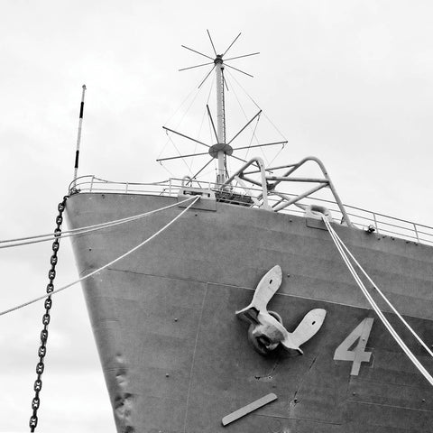 Ship Bow (b/w) -  Erin Clark - McGaw Graphics