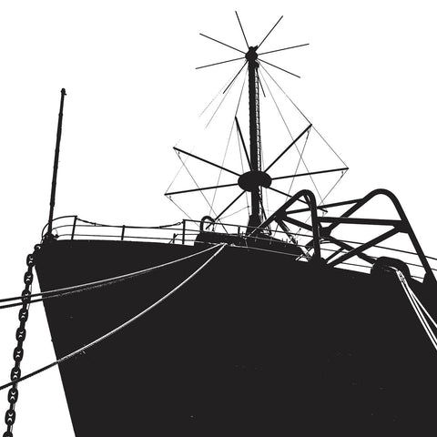 Ship Bow (silhouette) -  Erin Clark - McGaw Graphics