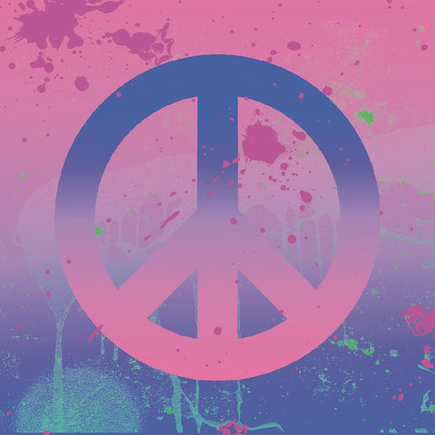 Psychedelic Peace -  Erin Clark - McGaw Graphics