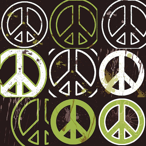 Peace Mantra (green) -  Erin Clark - McGaw Graphics