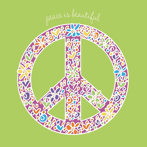 Peace is Beautiful -  Erin Clark - McGaw Graphics