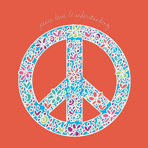 Peace, Love, and Understanding -  Erin Clark - McGaw Graphics