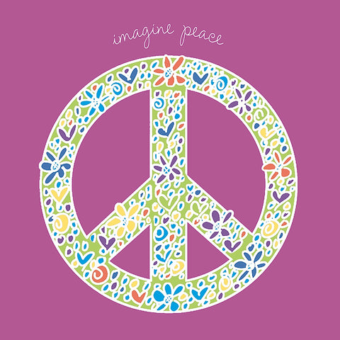 Imagine Peace -  Erin Clark - McGaw Graphics