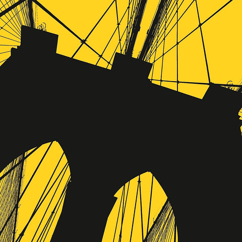 Brooklyn Bridge (yellow) -  Erin Clark - McGaw Graphics