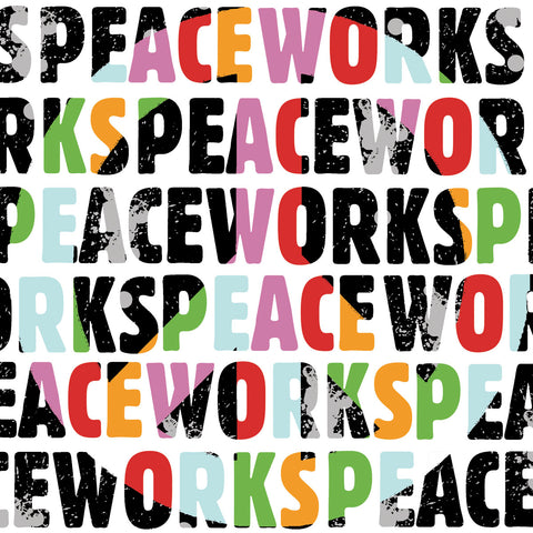 Erin Clark - Peace Works (white)