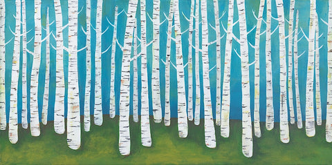 Lisa Congdon - Springtime Birches