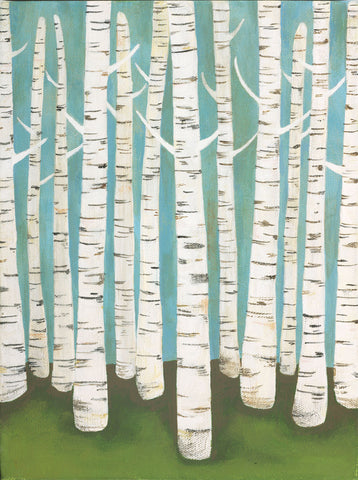 Lisa Congdon - Summer Birches