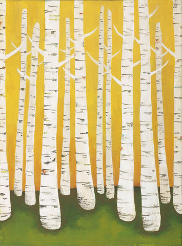Lisa Congdon - Autumn Birches