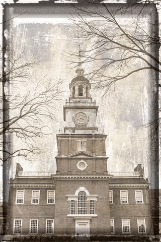 Independence Hall (Vintage) -  Erin Clark - McGaw Graphics