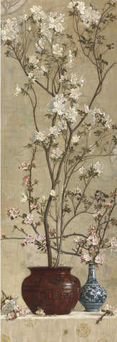 Azaleas and Apple Blossoms, 1879 -  Charles Caryl Coleman - McGaw Graphics