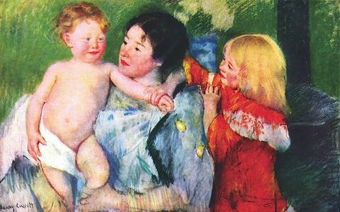 After the Bath -  Mary Cassatt - McGaw Graphics