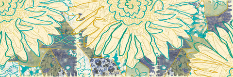 Flower Panel II -  Erin Clark - McGaw Graphics