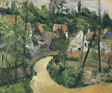 Turn in the Road, c. 1881 -  Paul Cezanne - McGaw Graphics