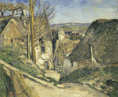 The House of the Hanged Man (La maison du pendu), Auvers sur Oise, 1873 -  Paul Cezanne - McGaw Graphics