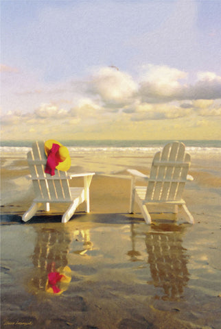 Carlos Casamayor - Chairs on the Beach
