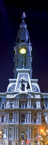 City Hall at Night -  Erin Clark - McGaw Graphics