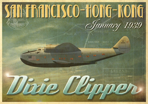 Dixie Clipper -  Carlos Casamayor - McGaw Graphics