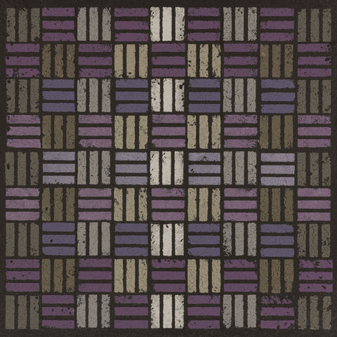 Susan Clickner - Basketweave Triple Play - Plum