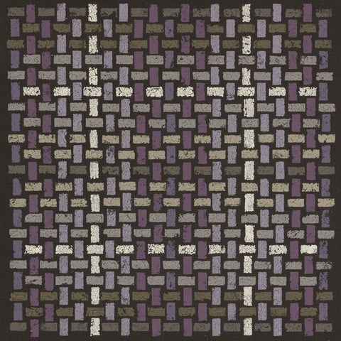 Susan Clickner - Basketweave Straight - Plum