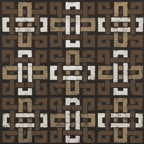 Susan Clickner - Large Knot 9 Square (Neutrals)