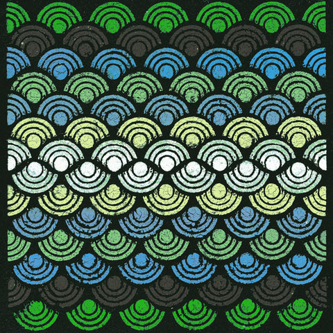 Susan Clickner - Dot Waves (Teal)
