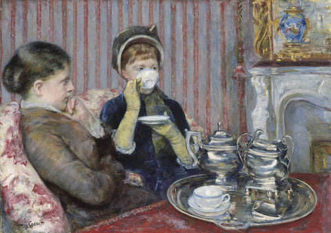 The Tea, about 1880 -  Mary Cassatt - McGaw Graphics