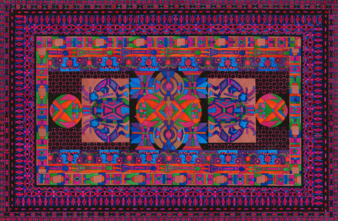 Tribal Display -  Lawrence Chvotzkin - McGaw Graphics