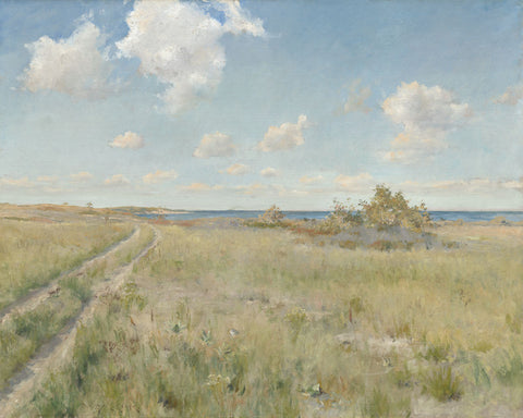 William Merritt Chase - The Old Road to the Sea, c. 1893