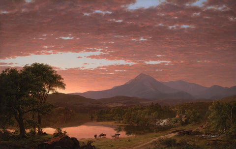 Mt. Ktaadn, 1853 -  Frederic Edwin Church - McGaw Graphics