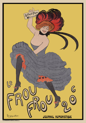 Leonetto Cappiello - Le Frou Frou 20', journal humoristique