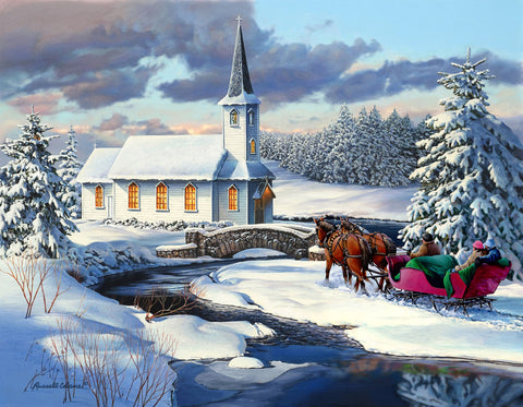 Sleigh Ride -  Russell Cobane - McGaw Graphics
