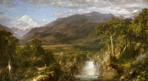 Heart of the Andes, 1859 -  Frederic Edwin Church - McGaw Graphics