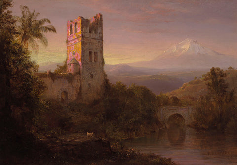 Chimborazo Volcano, 1884 -  Frederic Edwin Church - McGaw Graphics